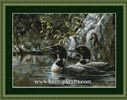 Kustom Krafts 99837 Loon Serenade (X Stitch Pattern Only) designed by Dyan Allaire