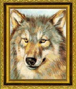 Kustom Krafts Inc. JW 002 Sentinel (X Stitch Pattern Only) designed by J.W. Baker Wildlife Art