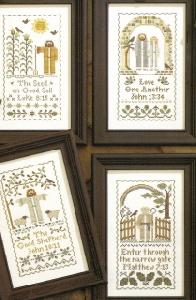 Leisure Arts 24028 Cherished Scripture Samplers
