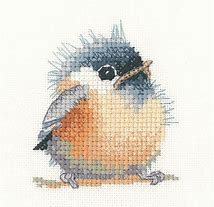 Heritage Stitchcraft LFCD1001 Little Friends Chickadee (X Stitch Pattern Only)