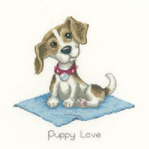 Heritage Stitchcraft DLPL1078 Puppy Love (X Stitch Pattern Only)