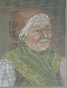 Rico Gobelin 59710 Bauerin/A Farmer Needlepoint Canvas