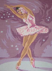 Royal Paris 141 32 Ballerina Needlepoint Canvas