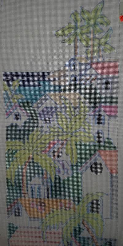 Sasi Creations Inc. Caribbean 2885-IT Needlepoint Canvas