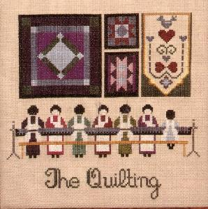 Told In A Garden 1 The Quilting