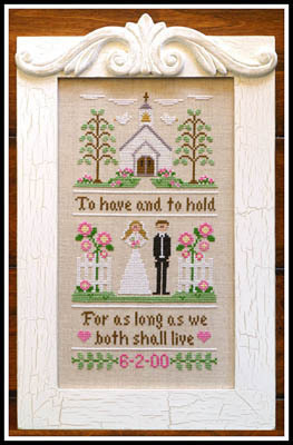 "Country Cottage Needleworks ""To Have And To Hold"""