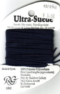Rainbow Gallery-Ultra-Suede-#U82-Navy