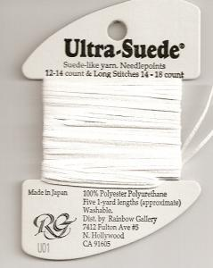 Rainbow Gallery-Ultra-Suede-#U01-White