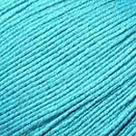 Bamboo Pop 106 Turquoise. Cotton and Bamboo. From Universal Yarns.