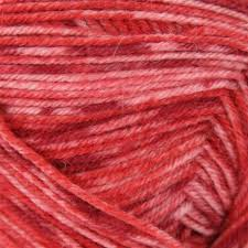 Angora Lace 102 Heartfelt from Wisdom Yarns with superwash fine merino, angora, & nylon.